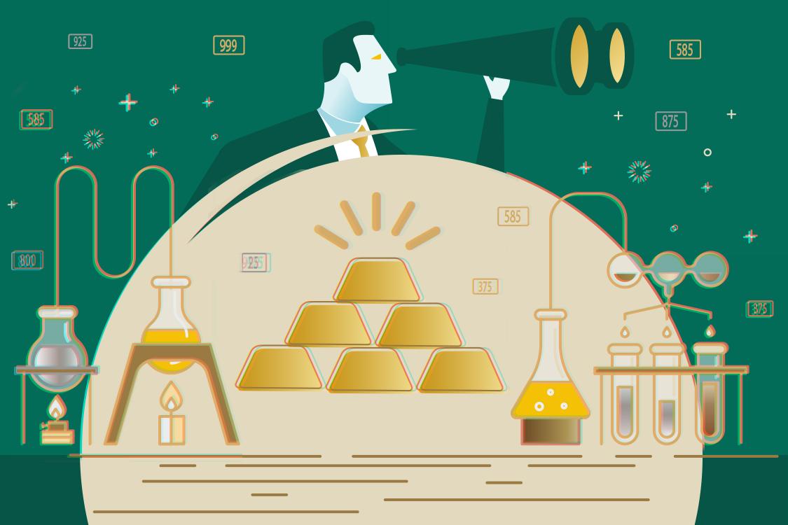 Jakie Są Próby Złota I Srebra Jak Sprawdzić Próbę Złota Gotówka